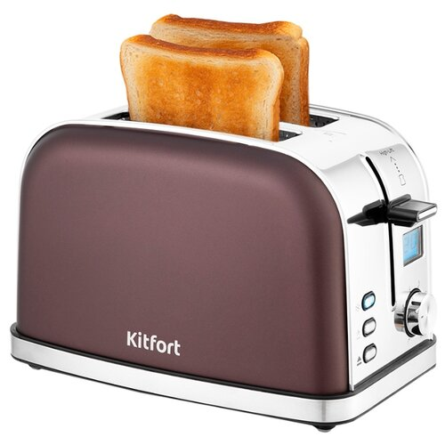 Фото - Тостер Kitfort KT-2036, кофейный тостер kitfort kt 2036 3