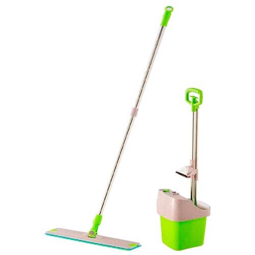 Набор Keya Self-Cleaning Mop зеленый/серый