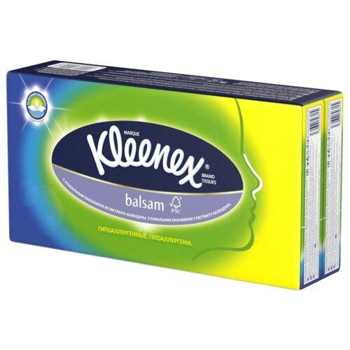 Платочки Kleenex Balsam 20 х 20 см, 8 пачек