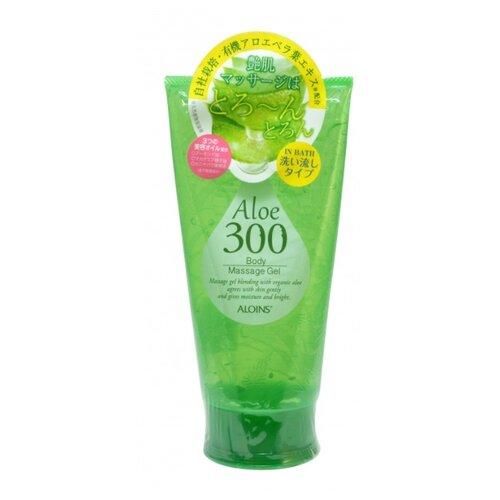 Гель для тела Aloins Aloe Body Massage массажный с экстрактом алоэ, тюбик, 300 г фото