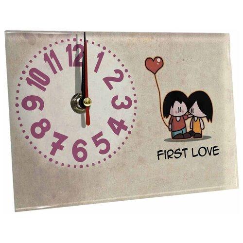 Часы настольные Идеал Первая любовь бежевый виши идеал солей 30