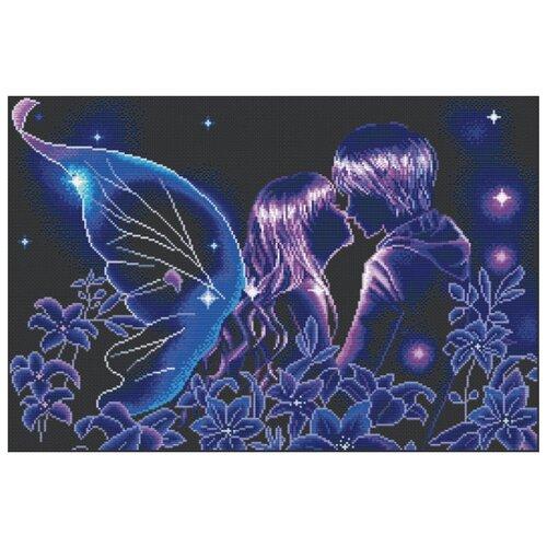 Купить Белоснежка Набор для вышивания Волшебный поцелуй 48 x 32, 5 см (3206), Наборы для вышивания