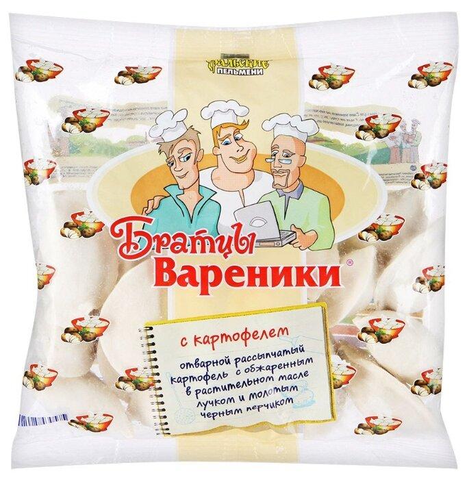 Братцы Вареники вареники с картофелем 350 г