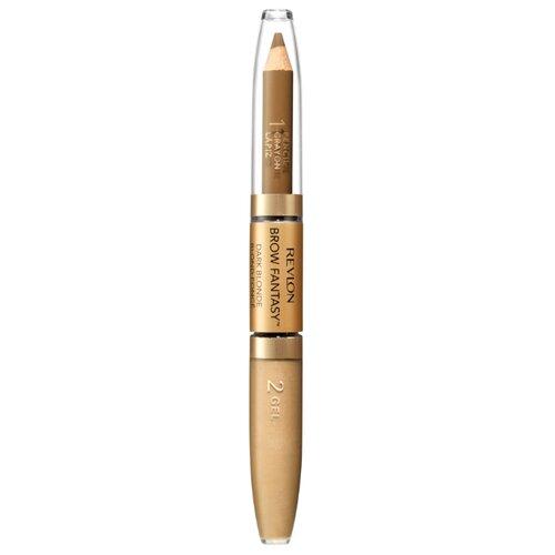 Revlon карандаш+гель Colorstay Brow Fantasy Pencil & Gel, оттенок 104 blonde недорого