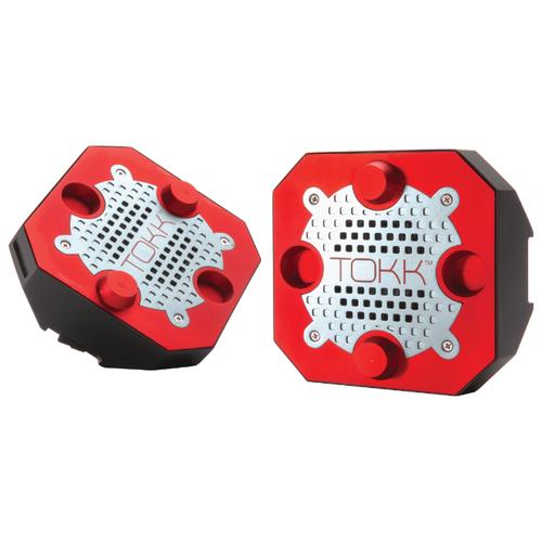 Портативная акустика Pred Technologies TOKK Reactor XL black / red фото