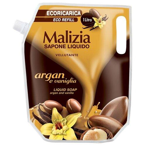 Купить Мыло жидкое Malizia Арган и ваниль, 1 л