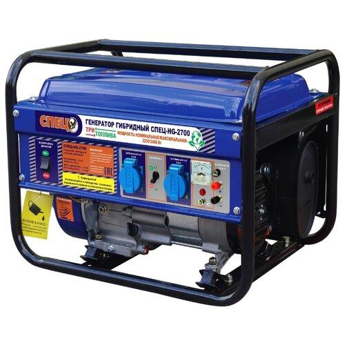 бензопила спец бп 3816 спец 3276 1200 вт Газо-бензиновый генератор СПЕЦ HG-2700 (2200 Вт)