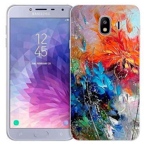 Чехол Gosso 719348 для Samsung Galaxy J4 (2018) весенний взрывЧехлы<br>