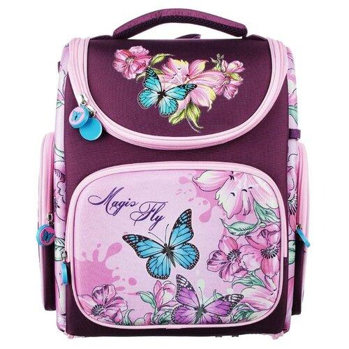 Купить Clipstudio Ранец Magic Fly 254-170, розовый/фиолетовый, Рюкзаки, ранцы
