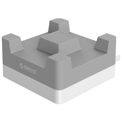 Купить Сетевая зарядка ORICO CHA-4U серый