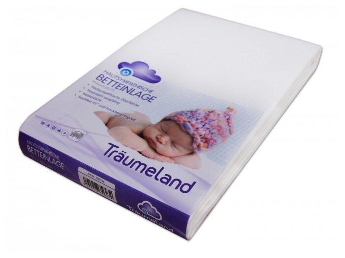 Наматрасник Traumeland водонепроницаемый Molton Cover (60х120 см) белый