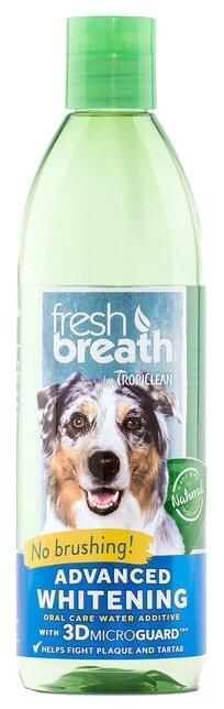 Моющее средство Tropiclean Fresh Breath для полоскания зубов собак 473 мл