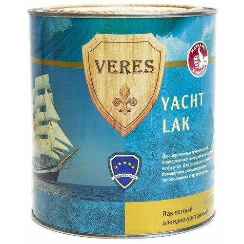 Лак яхтный VERES Yacht Lak матовый алкидно-уретановый 2.5 л