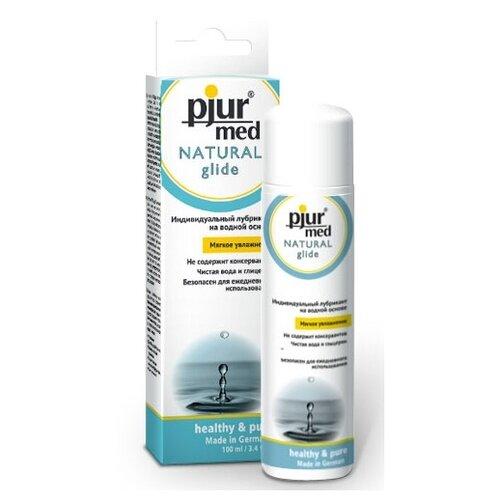 Масло-смазка Pjur Нейтральный лубрикант на водной основе pjur MED Natural glide - 100 100 мл hot лубрикант на водной основе анальный экстрим глайд 100 мл