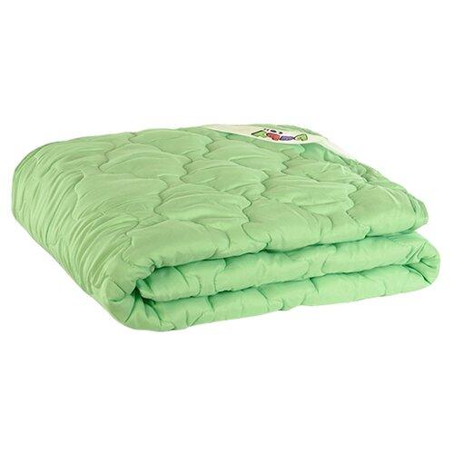 Одеяло Мягкий сон Бамбук baby зеленый 110 х 140 см