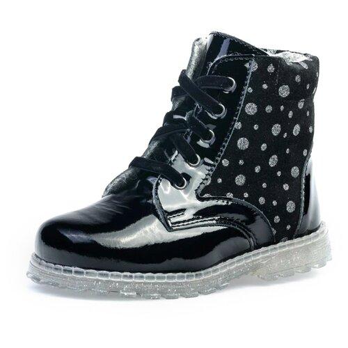 Ботинки КОТОФЕЙ размер 25, черный ботинки tapiboo размер 30 черный