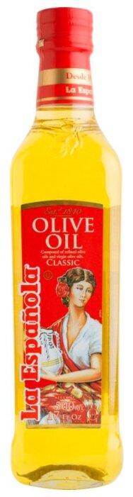 La Espanola Масло оливковое, стеклянная бутылка