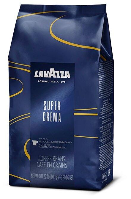 Кофе в зернах Lavazza Super Crema — купить по выгодной цене на Яндекс.Маркете