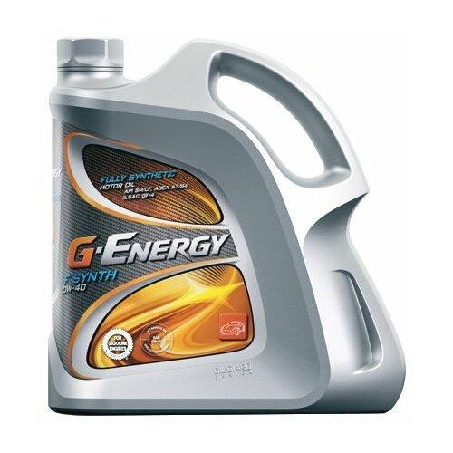 Синтетическое моторное масло G-Energy F Synth 0W-40, 4 л по цене 3 659