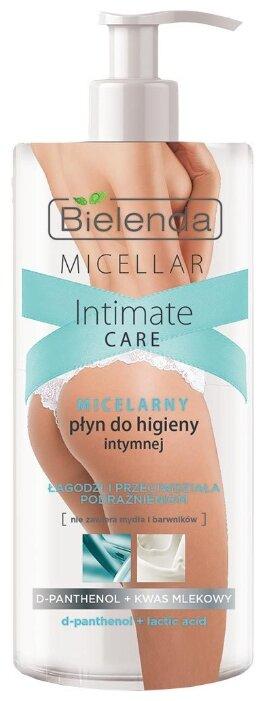Bielenda Мицелярное средство для интимной гигиены D-Пантенол и молочная кислота, 300 мл