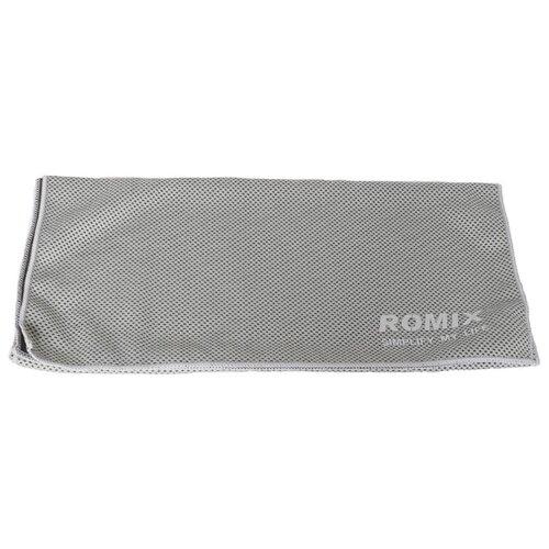 Romix Полотенце охлаждающее RH24 для спорта 30х90 см серый