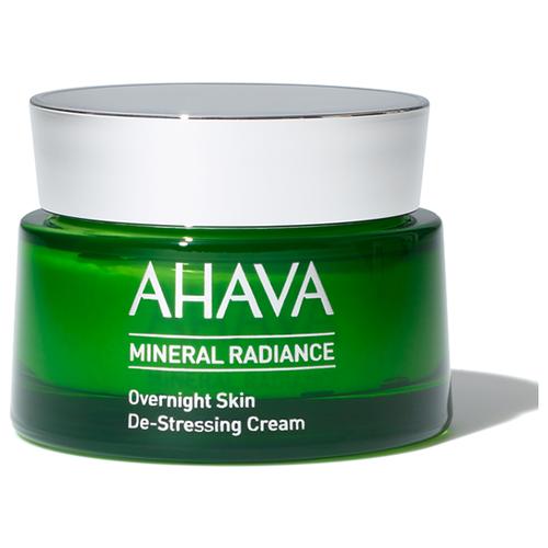 AHAVA Mineral Radiance Overnight de-stressing cream Минеральный ночной крем для лица, придающий сияние и снимающий напряжение, 50 мл
