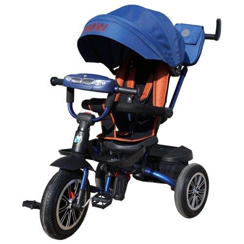 Трехколесный велосипед Shantou City Daxiang Plastic Toys BMW5S-M-N1210 темно-синийТрехколесные велосипеды<br>