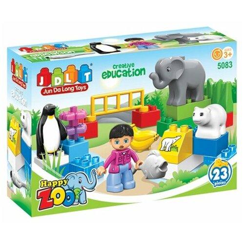 Купить Конструктор JDLT Happy Zoo 5083, Конструкторы