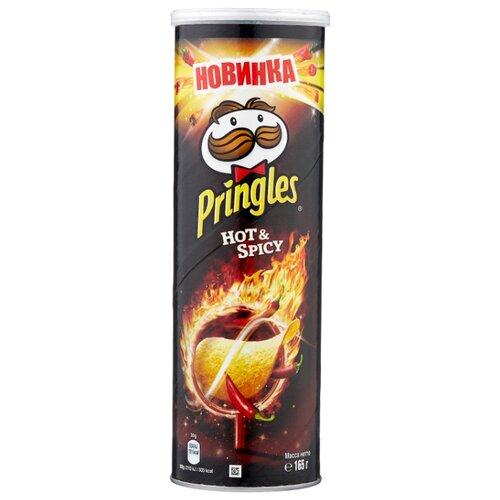 Чипсы Pringles картофельные Hot & Spicy, 165 г