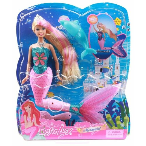 Купить Кукла Defa Lucy Русалка, 29 см, 8243, Куклы и пупсы