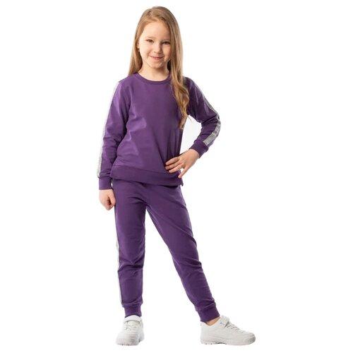 Брюки bodo 6-118U размер 86-92, фиолетовыйБрюки и шорты<br>