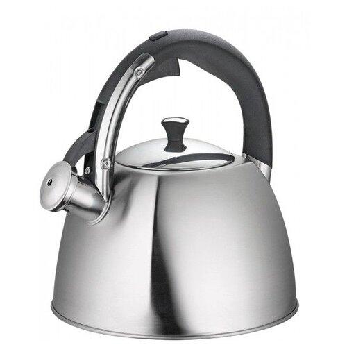 Фото - REGENT inox Чайник со свистком Linea TEA 93-TEA-30 3 л, серебристый чайник 2 6 л со свистком regent tea 93 tea 28