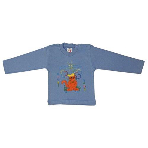 Купить Лонгслив Kirpi, размер 86, голубой, Футболки и рубашки