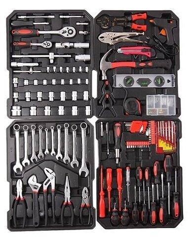 Набор инструментов Эврика ER-TK186 (186 предм.) — купить по выгодной цене на Яндекс.Маркете