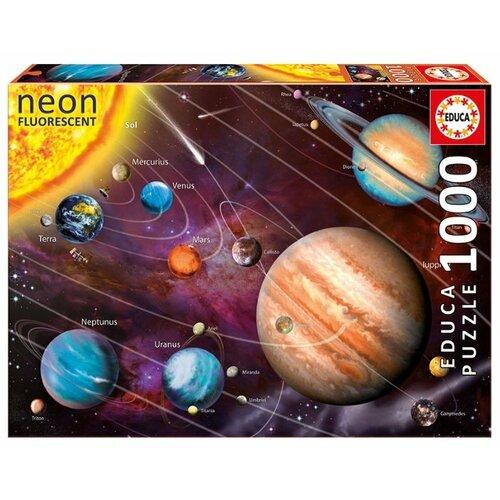 Купить Пазл Educa Neon Солнечная система (14461), 1000 дет., Пазлы