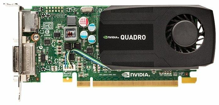 Видеокарта PNY Quadro K600 PCI-E 2.0 1024Mb 128 bit DVI