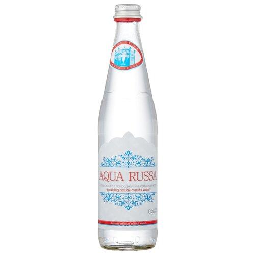 Минеральная вода Aqua Russa газированная, стекло, 0.5 л cucina russa