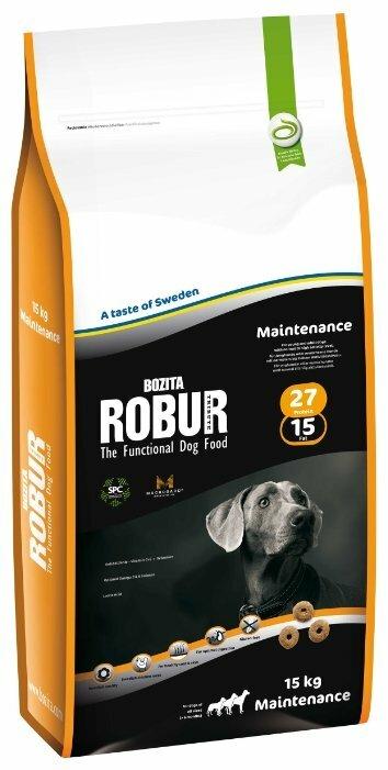 Корм для собак Bozita Robur для здоровья кожи и шерсти 15 кг