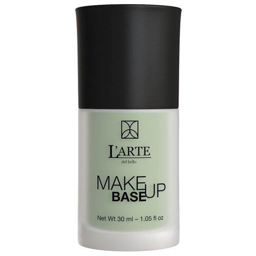 LArte del bello база для макияжа против покраснений Make up base anti-redness 30 мл зелeный