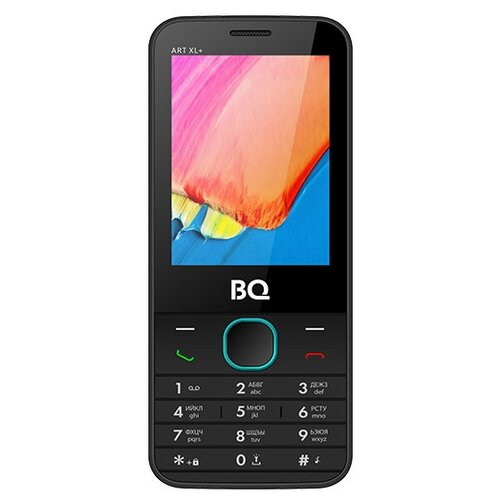 Телефон BQ 2818 ART XL+, черный