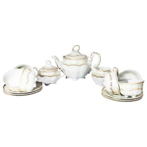 цена на Чайный сервиз Cmielow Bolero (Вена Золото) 15 предметов