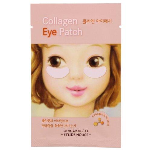 Etude House Патчи для кожи вокруг глаз Collagen Eye Patch 4 г (2 шт.) esthetic house патчи для кожи вокруг глаз aloe vera