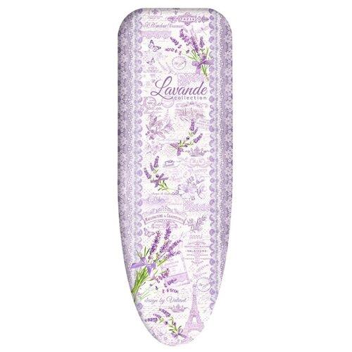 Чехол для гладильной доски Valiant Lavande Collection средний 130х47 см lavande