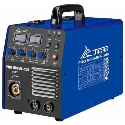 цена на Сварочный аппарат ТСС PRO MIG/MMA-200 (MIG/MAG, MMA)