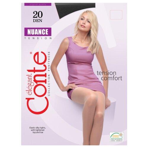 Фото - Колготки Conte Elegant Nuance 20 den, размер 5, nero (черный) колготки conte elegant active 40 den размер 5 nero черный