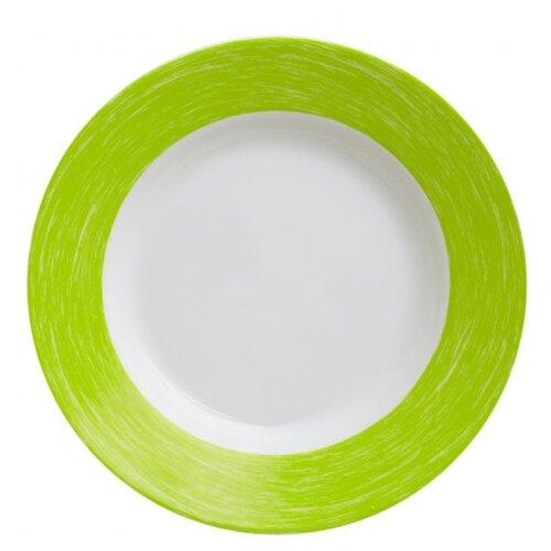 Luminarc Тарелка суповая Color Days 22 см белый/зеленый тарелка суповая luminarc amely 22 см