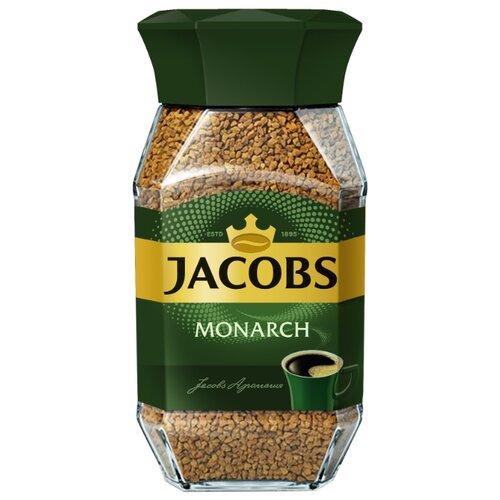 Кофе растворимый Jacobs Monarch, стеклянная банка, 95 г кофе растворимый jacobs monarch 75грамм [4251675]