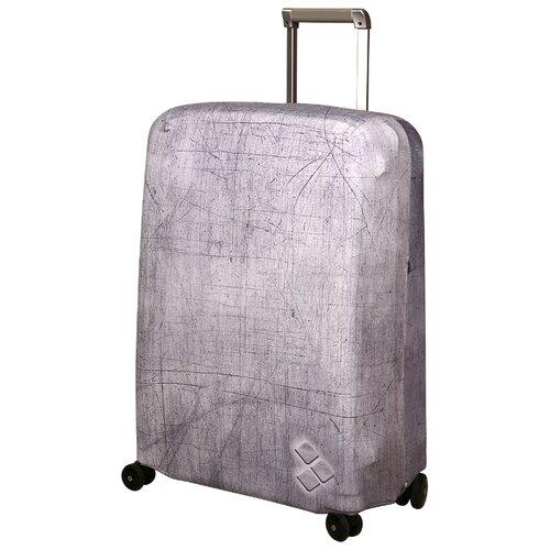 Чехол для чемодана ROUTEMARK Silverstone SP500 M/L, серый чехол для чемодана routemark inmotion размер m l 65 74 см