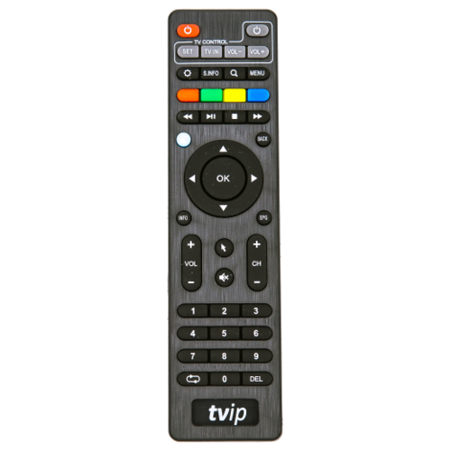 Фото - Пульт ДУ Gwire для TVIP IPTV S-310, S-400, черный пульт ду huayu для opentech isb7 va70 черный