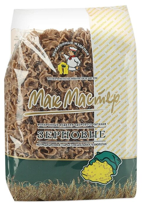 Макароны МакМастер зерновые лапша 300г